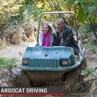 Argocat Driving